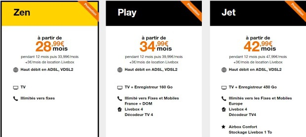 Internet Orange : les abonnements ADSL en promotion