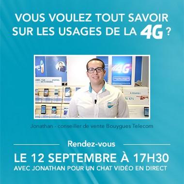 Vidéo Chat Bouygues 4G
