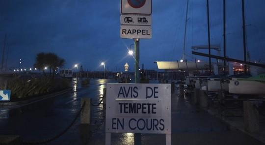 Tempête Dirk en Bretagne le 24 décembre 2013