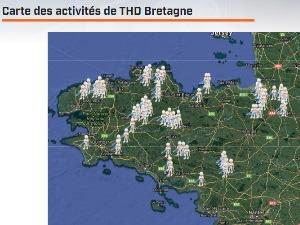 La fibre optique en retard sur la zone d'initiative bretonne