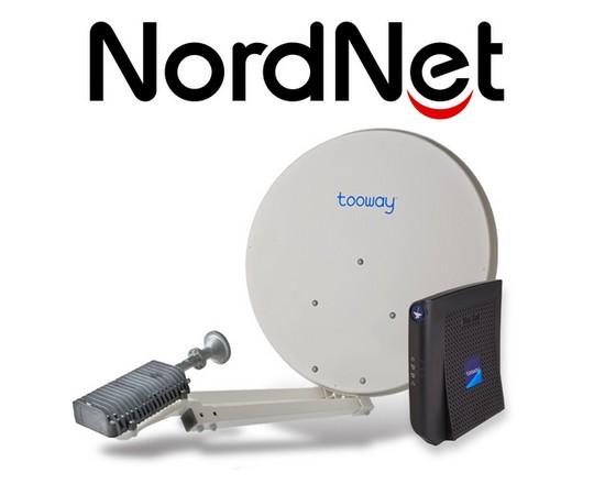 Pack satellite Tooway chez Nordnet