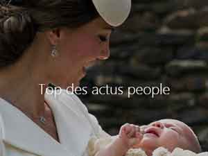 Top des actus people