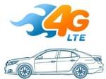 La 4G LTE pour apporter internet dans une voiture