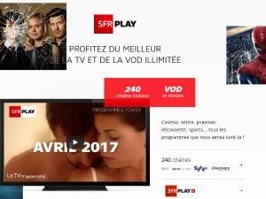 SFR : bouquets TV