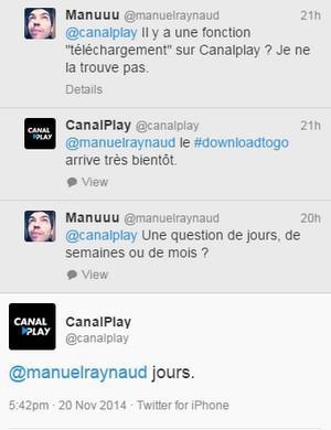 tweet @canalplay