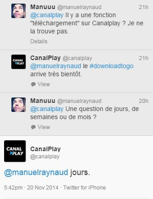 tweet @canalplay