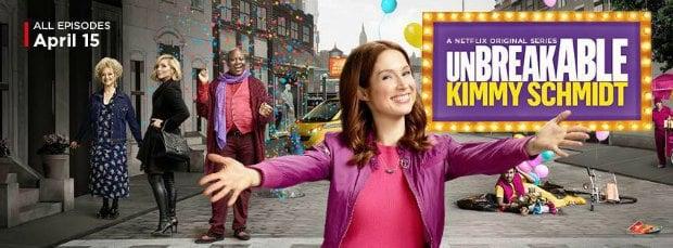 Netflix : Unbreakable Kimmy Shcmidt saison 3 en mai