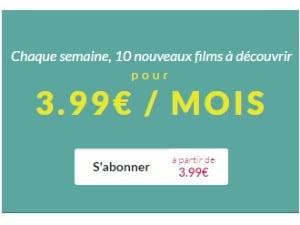 Uncut : films en illimité à partir de 3,99€/mois