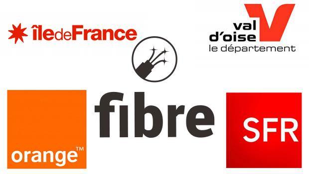 Orange, SFR, Debitex et une nouvelle DSP pour la fibre dans le 95
