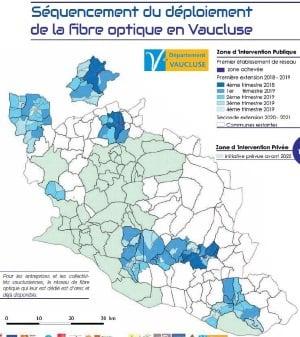Vaucluse : 100% fibre optique en 2022
