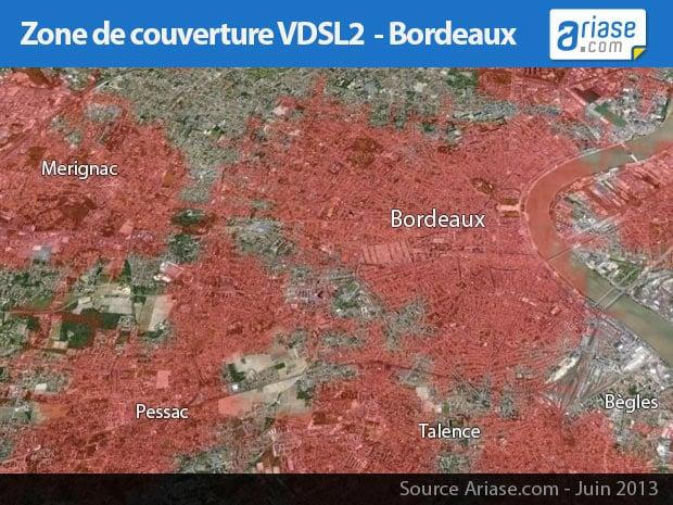 carte VDSL2 Bordeaux