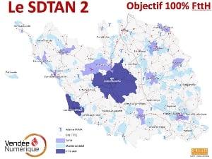 La fibre pour 100% de la Vendée en 2025