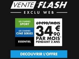 Ventes Flash Canal Sport + Ciné Séries