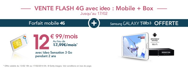 Vente Flash Bouygues