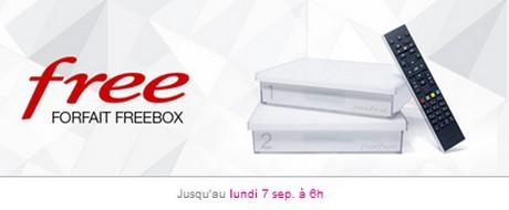 Vente Privée Freebox Crystal entre le 24 août et le 7 septembre 2015