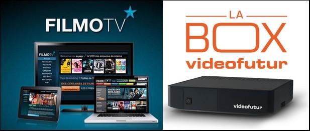Partenariat entre Videofutur et Filmo TV