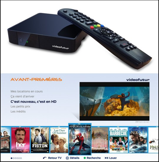 HD au prix de la SD chez videofutur