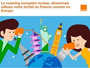 Orange : téléphoner et surfer en Europe comme en France