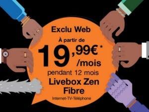 Orange : offre fibre à moins de 20 euros