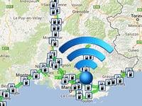 Le WiFi sur les aires d'autoroutes
