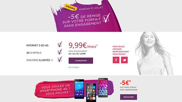 Virgin Mobile 3Go et 3H