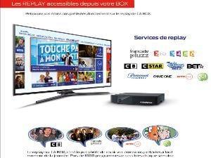 Tv et Replay sur LA FIBRE Videofutur