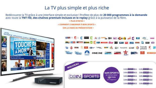 BeIN Sports chez Vitis et LA FIBRE Videofutur