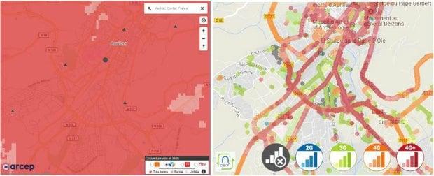 Cartes de couverture : voix et SMS chez Bouygues