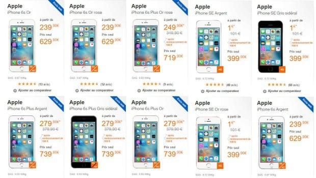 Les smartphones compatibles VoWiFi chez Oranger/Sosh