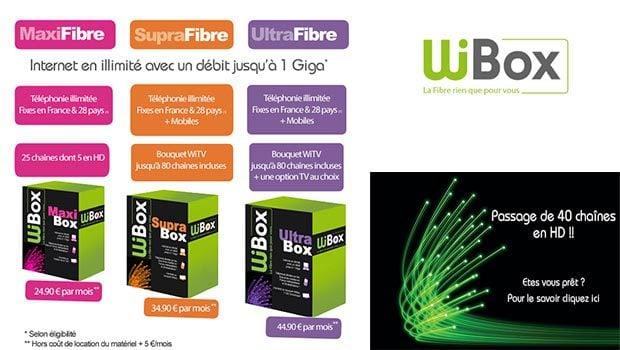 3 offres wibox