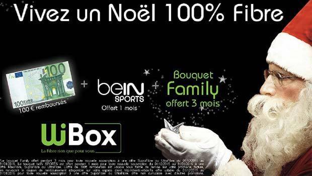 Offres de Noël Wibox'