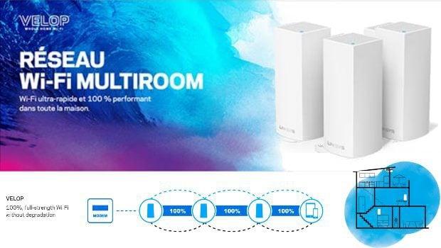Des débits en en Wi-Fi triple-bande