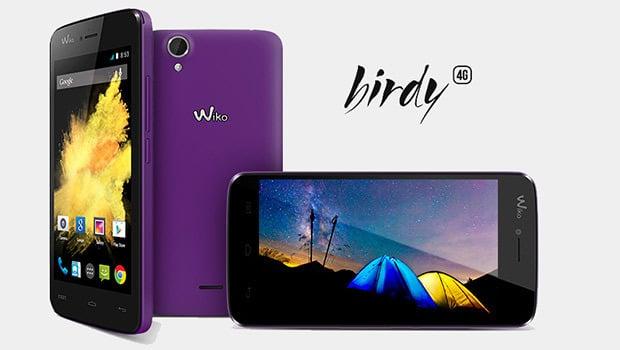 Wiko Birdy : un smartphone 4G à moins e 130 euros