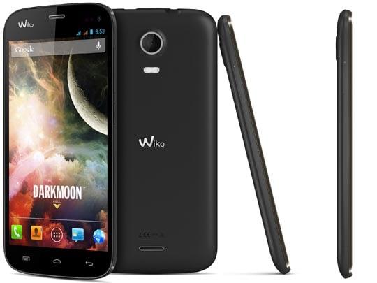 Wiko Darkmoon : moins de 8 mm d'épaisseur