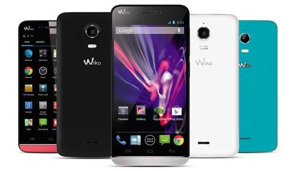 Wiko Wax : plusieurs coloris assez classiques