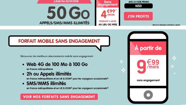 NRJ Mobile Woot 50Go