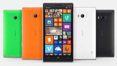 Le Nokia Lumia 930 offre un design coloré sur la face arrière