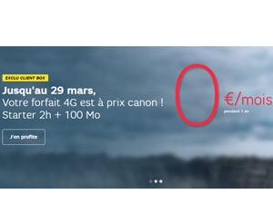forfait zero euro sfr