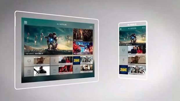 4 catégories majeures a priori au lancement, plus la zone 4K et Carte Blanche'