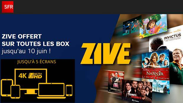Zive gratuit jusqu'au 10 juin