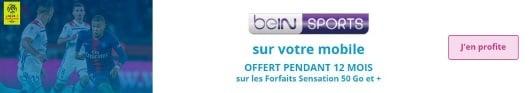 Bein Sports gratuit avec un forfait Sensation Bouygues: j'en profite