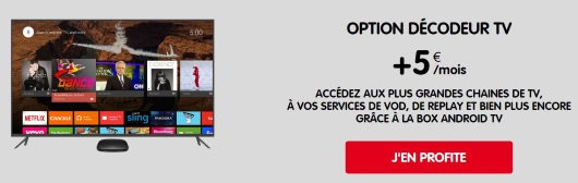 Box 4G NRJ mobile : service TV en option