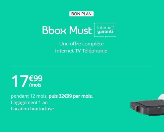 Bbox must en fibre, la box Internet de Bouygues Telecom à moins de 20 euros/mois