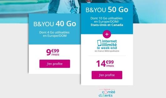 Forfait en promo : les deux séries spéciales de Bouygues Telecom jusqu'au 17 février