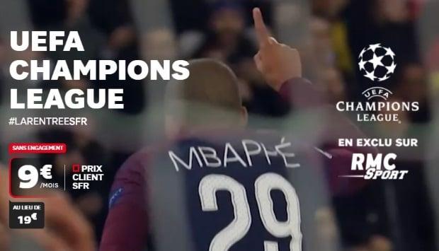 RMC Sport : La Ligue des Champions 2018-2019 en exclusivité