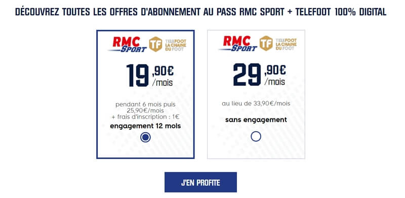 Téléfoot en promo avec RMC Sport