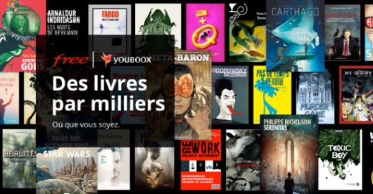 Free Mobile : lecture numérique en illimité avec Youboox
