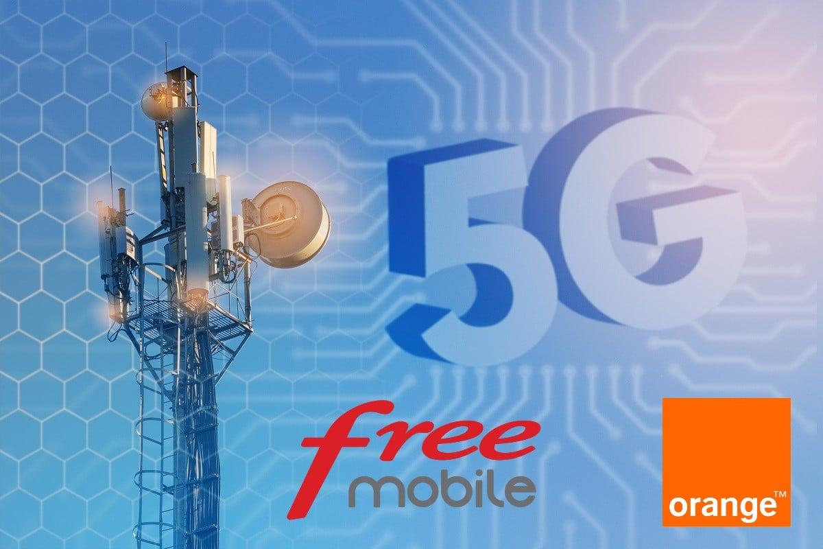 Réseau mobile 5G : vers un accord de mutualisation entre Orange et Free