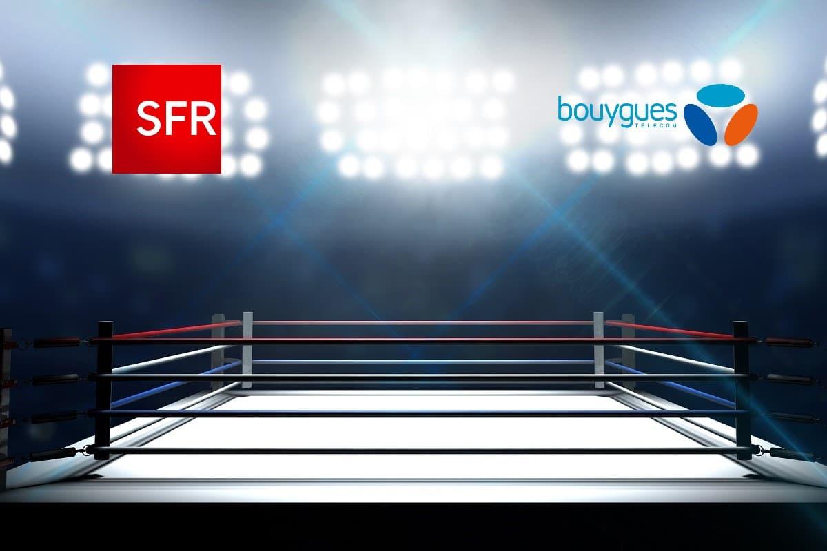 Box internet pas cher : le match SFR vs Bouygues