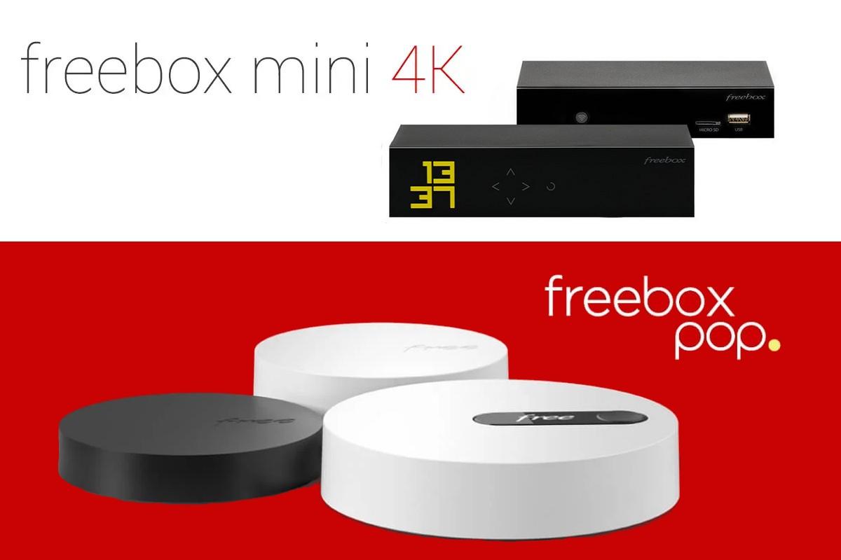 Quelle Freebox choisir entre la Mini 4K et la Pop ?